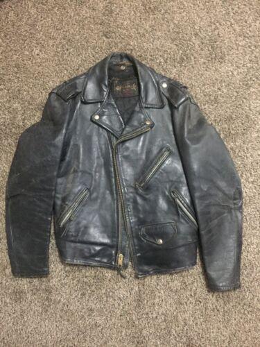 Vintage 50s Schott Perfecto Leather Motorcycle Jac