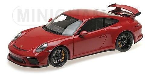 PORSCHE PORSCHE PORSCHE 911 GT3  2017 ROUGE JANTES NOIRES      MINICHAMPS    1/18 | Stocker  618984