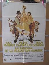 1987     LA LEYENDA DE LA CIUDAD SIN NOMBRE. LEE MARVIN, CLINT EASTWOOD, JEAN SE