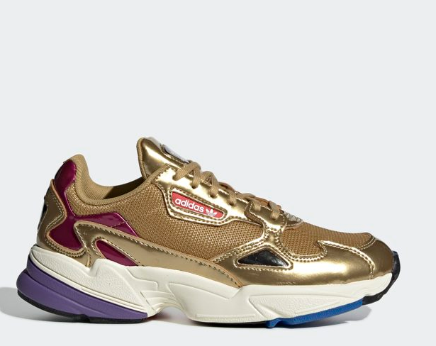 Falcon CG6247 - gold, Women's Running shoes Lifestyle Sneaker