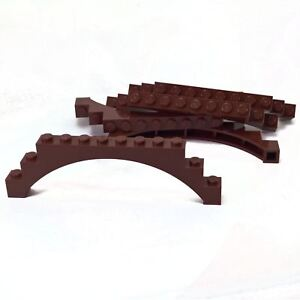 Arch 1 x 12 x 3 Arch 5 Cross Supports Light Bluish Gray 5 NEW LEGO Brick