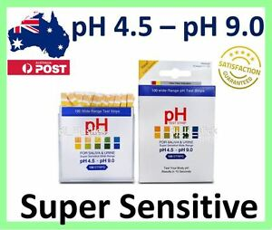 Dual-Alkaline-pH-Tester-For-Body-Urine-amp-Saliva-100-Strips-Pack-pH-Level-Health
