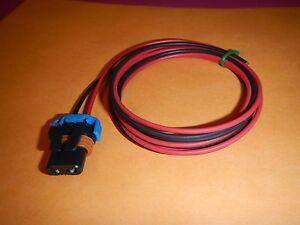 Fog Light Connector For 2003-2006 Chevy Silverado 2500 HD 2008 2012 2007 J778RP