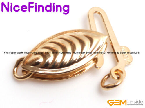 14K Gold Filled Fish Hook Clasp Connector Repair Findings For Jewelry Making DIY