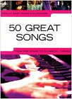 Really Easy Piano Collection: 50 Great Songs by Wise Publications (Paperback, 2008)