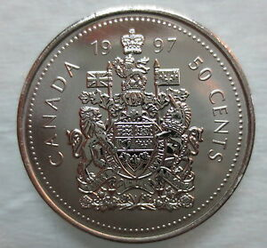 Fifty Cent 1971 Canadian Prooflike 50 Cent $0.50