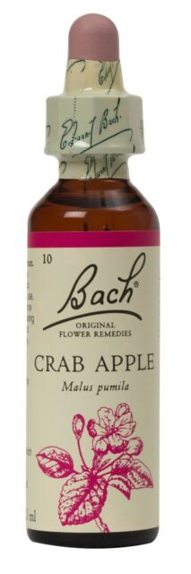 Bach Flower Remedies, Crab Apple 20ml. BBE 12/22