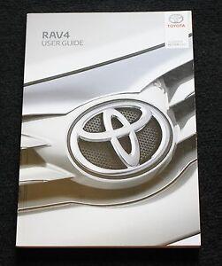 toyota rav4 rav 4 user guide handbook owners manual 2013 2018 audio rh ebay com 2013 toyota rav4 owners manual pdf toyota rav4 owners manual 2013
