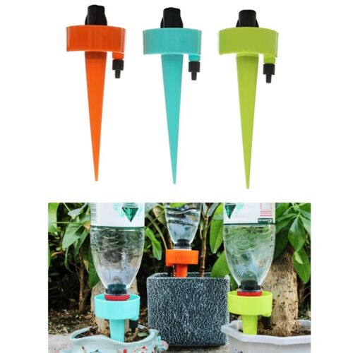 Plastic Plant Self Watering Adjustable Stakes Automatic Spikes Irrigation System