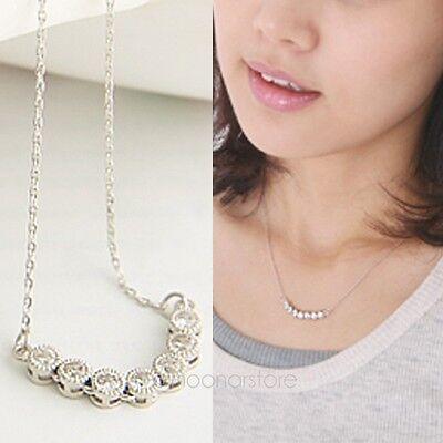 2014 Fashion Women Crystal Rhinestone Stars Style Long Chain Necklace Pendant