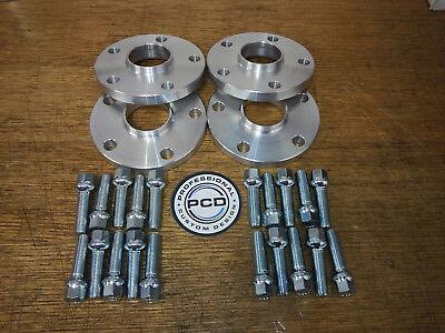 57.1 pernos de diámetro y 10 Radio 30mm VW AUDI 5x112 o 5X100 Rueda Espaciadores Hubcentric