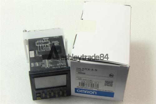 H7CXAN 1PC H7CX-A-N 100-240VAC OMRON Counter NEW