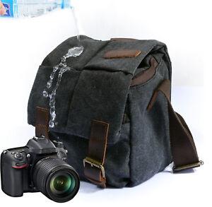 Canvas-Camera-Case-Shoulder-Bag-for-Canon-Nikon-Sony-SLR-DSLR-Waterproof