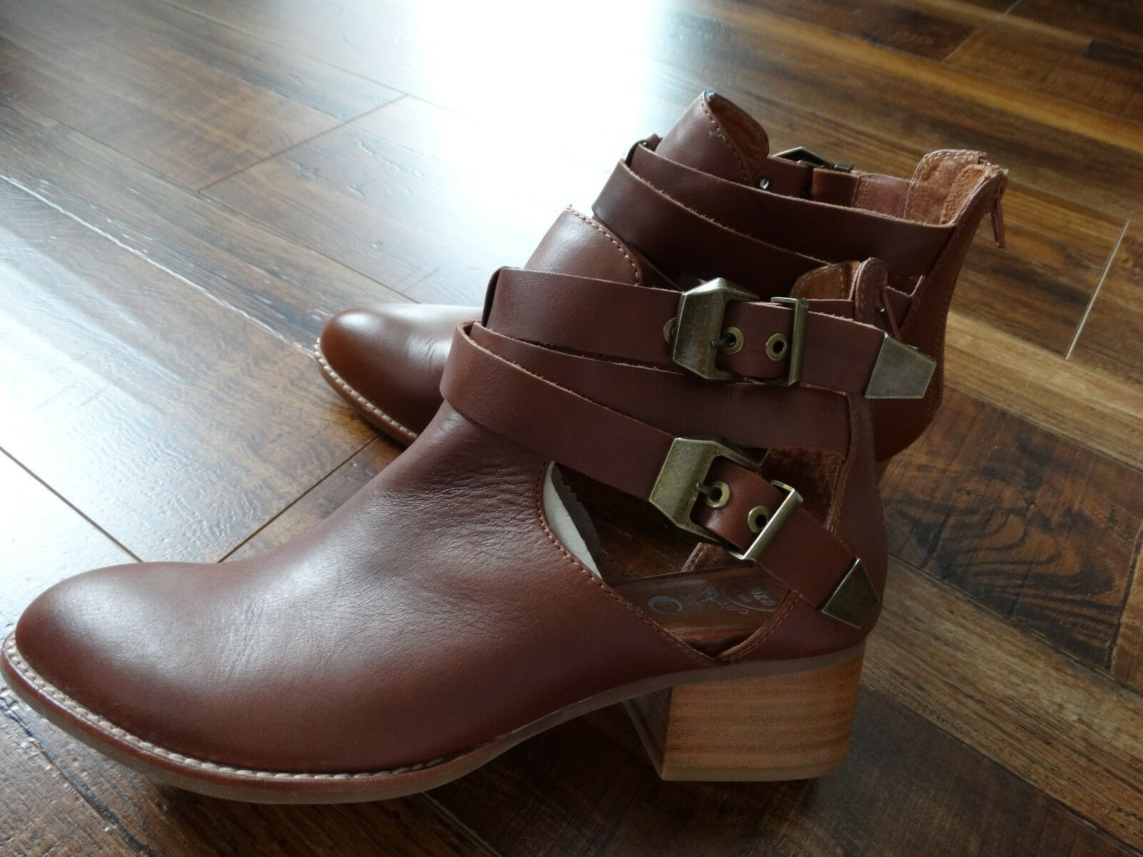 IBIZA Jeffrey Campbell Leather Ankle boots boots boots 9.5 e4a551