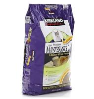 Kirkland Signature Super Premium Cat Food, Chicken And Rice - 25 Lb