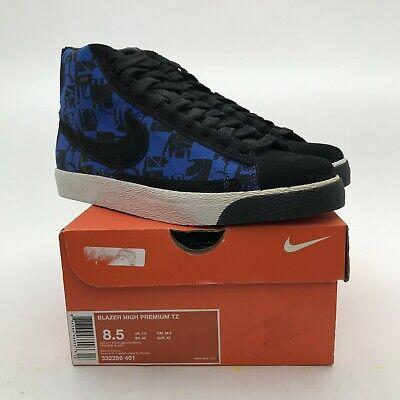 332286 401 Nike Blazer High PRM TZ Stussy x Neighborhood Boneyard Royal Blue | eBay