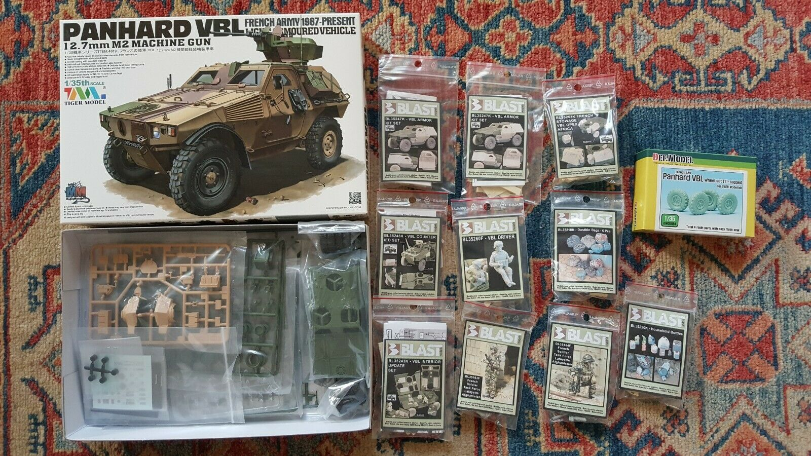 PANHARD VBL – FRENCH ARMY – TIGER MODEL – 1 35 – AFGHANISTAN