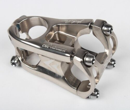 KRSEC Aluminum Stems 31.8*50mm 0° Mountain Road XC Bike handlebar bar Short Stem