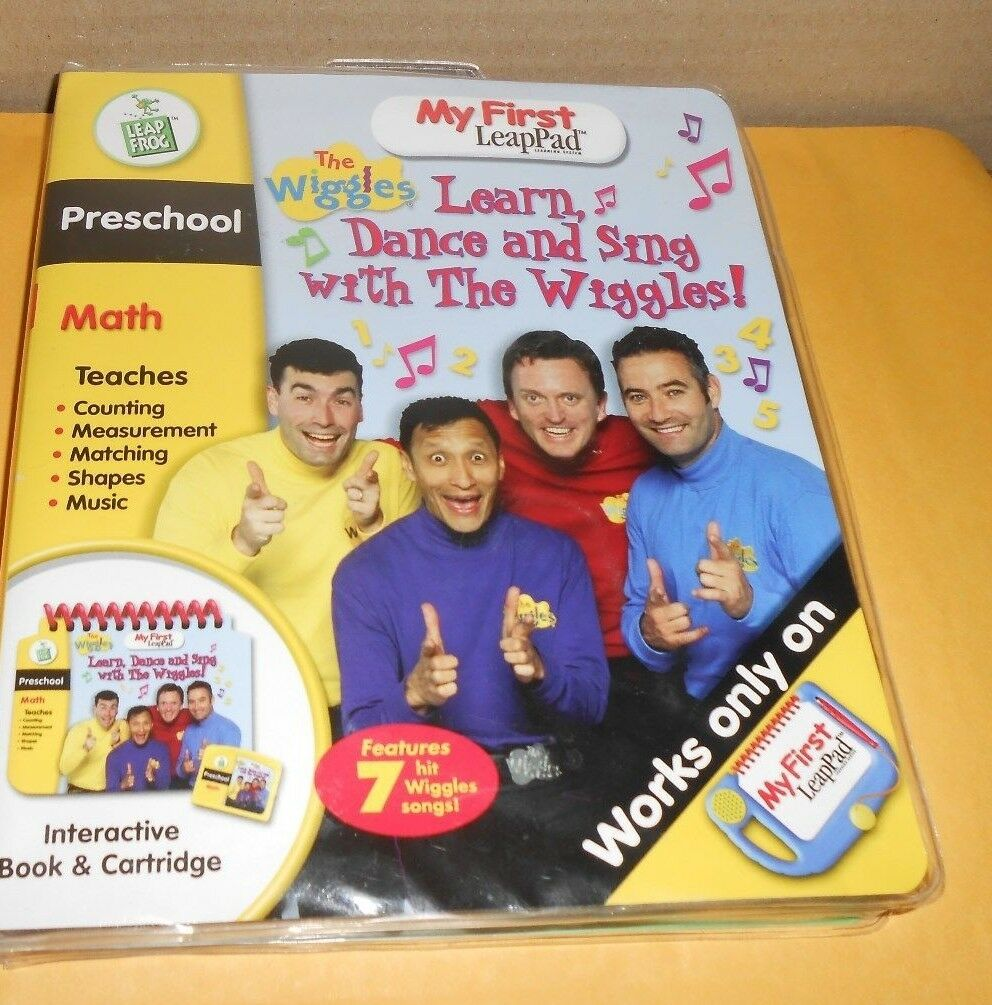 My First LeapPad - Preschool Math - The Wiggles - Excellent Condition