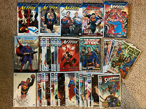 Superman Action Comics 1 2 3 4 5-14 TPB HC Graphic Novel Lot Vol Rebirth Omnibus