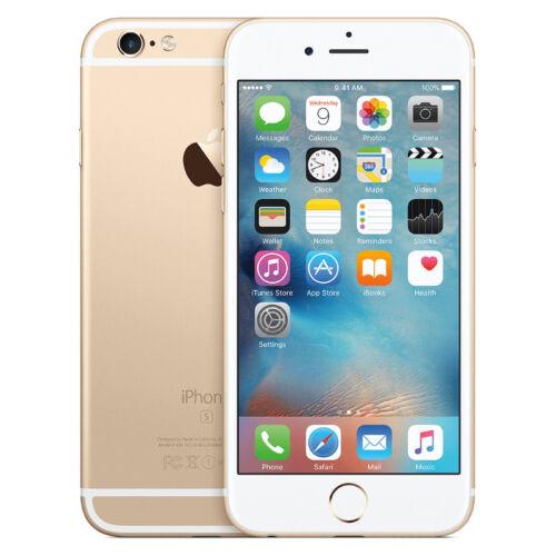 1 von 1 - Apple iPhone 6s - 64GB - Gold (Ohne Simlock) Smartphone