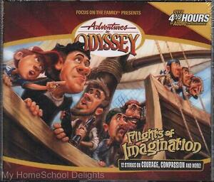 New Sealed Adventures In Odyssey Flights Of Imagination
