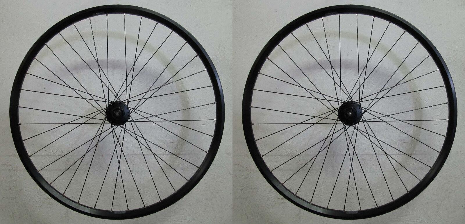 Shimano Deore 615 Rigida Zac 2000 Disc Cl Set Ruote Bicicletta Trekking 28  MTB