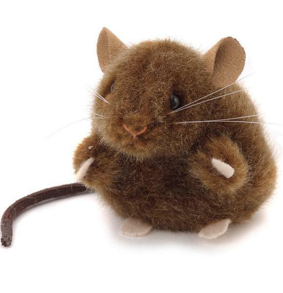 Kosen Mouse Brown 10cm (Product Code 5563) Soft Toy Realistic Collectable