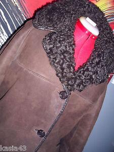 montone pelliccia di Giacca shearling di scozzese montone di UPHnwnBRz