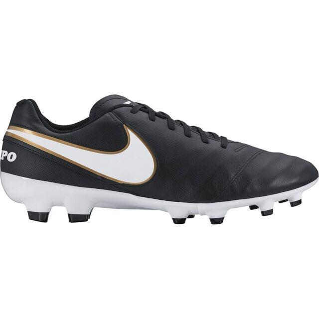 the best attitude 0620e 8900c NEW NIKE Men's Tiempo Genio II Leather Fg Soccer Shoes 8.5 9.5 10 10.5 11 13