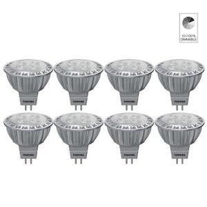 8x-Toshiba-E-Core-Led-Lampe-a-Reflecteur-Spot-MR16-GU5-3-6-5W-Blanc-Neutre-4000K