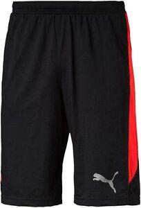 74458906c80d New Mens PUMA Black Long Shorts Pants - Sports Gym Training ...