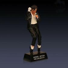 Classic Black Suit Michael Jackson Resin White Gloves Doll Figure Collection