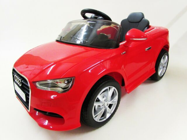 d4ebab280a2b Audi A3 Licensed Kids Ride on Car 12v Twin Motor Battery 2.4g Remote  Control Car for sale online | eBay