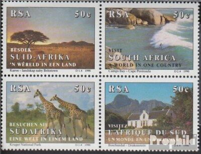 Unmounted Mint Lower Price with South Africa 804-807 Block Of Four complete.issue. Never Hing Elegant In Smell