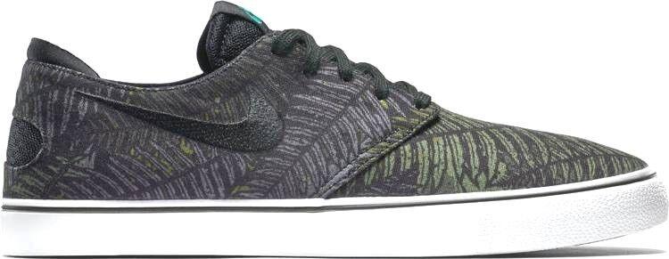 Männer - nike sb - luft - skateboarden oneshot skateboarden - floral schuhe in größe 10 grün - schwarz 11ae18