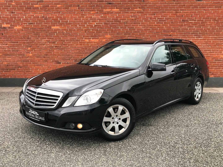 Mercedes E200 2,2 CDi Avantgarde stc. aut. BE 5d - 109.800 kr.