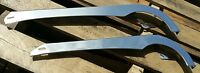 26 Or 20 Bicycle Chainguard Satin Chrome Steel Vintage Classic Pant Protector