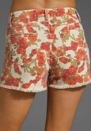 Tagliato Jeans Pantaloni Donna 8 Lola Corti 29 Paige 10 31 Floreale Nuovo wXIaBq