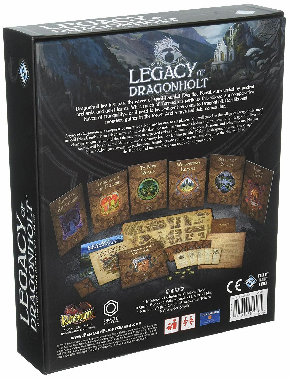 Legacy of dragonholt dragonholt dragonholt Board Game 012a89