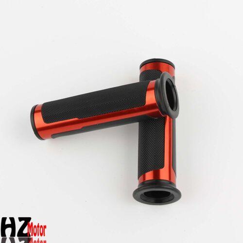 """Motorcycle Hand Grips Rubber Gel 7//8/""""Handle Bar For Honda Suzuki Kawasaki Yamaha"""