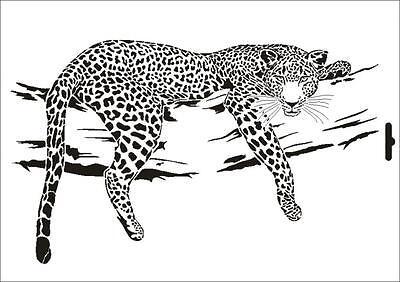 Stencil w-165 Lion ~ UMR Pared Stencil