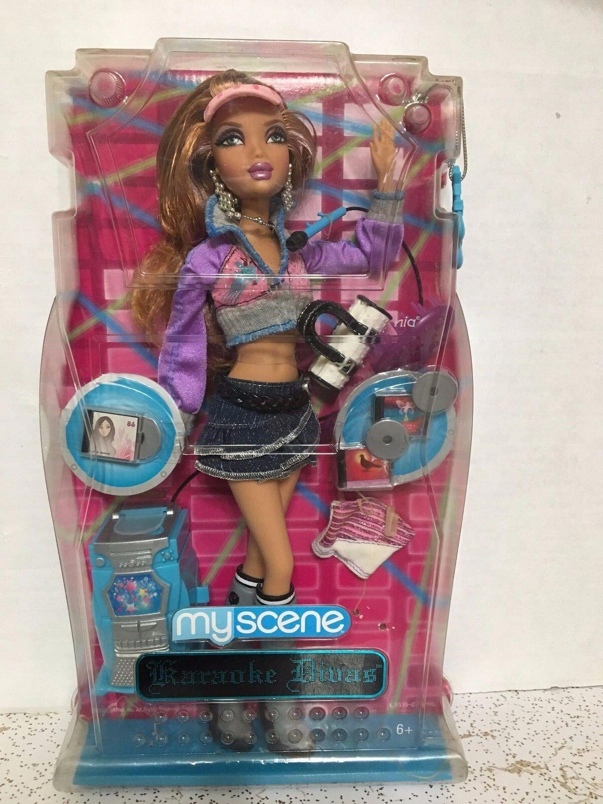 Muñeca Muñeca Muñeca Barbie My Scene Nia Karaoke Divas Raro  ventas en linea