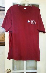NEW-MENS-hanes-size-M-UNIVERSITY-OF-SOUTH-CAROLINA-GAMECOCKS-football-T-Shirt