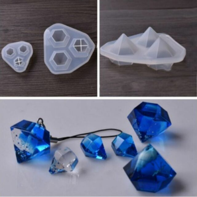 Silicone Mould Decorative Craft DIY Mold cutting shape Type molds for jewel V4F1
