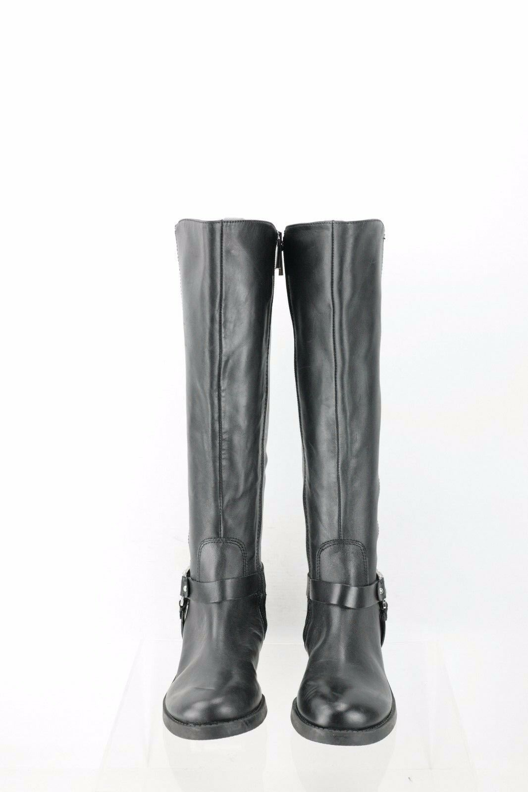 Vince Camuto Farren Farren Farren Black Leather Knee High Boots Women's shoes Size 4.5 M NEW e749b5