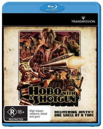 1 of 1 - Hobo With A Shotgun (Blu-ray, 2011) New, ExRetail Stock (D142)