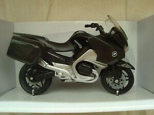 MOTO-MINIATURE-BMW-R-1200-RT-NOIRE-1-18-NEUVE-12-CM-E-LONG