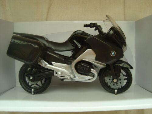 MOTO MINIATURE BMW R 1200 RT NOIRE 1//18 NEUVE 12 CM DE LONG