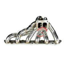 REV9 86-92 SUPRA MK3 7MGTE 7M T4 FLANGE STAINLESS STEEL EXHAUST TURBO MANIFOLD